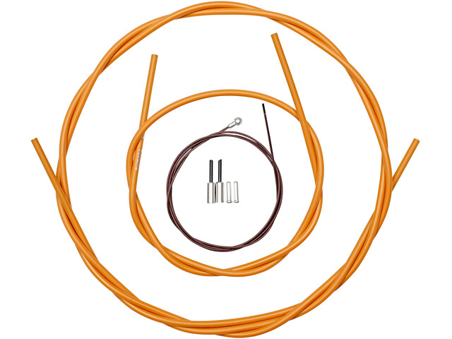 Shimano Dura-Ace BC-9000 Bremszug-Set polymerbeschichtet orange